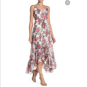 NWT Nanette Lepore Floral Striped Maxi